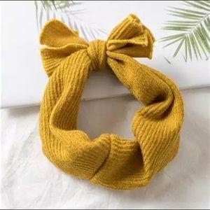 Other - NWT Mustard Knit Headband